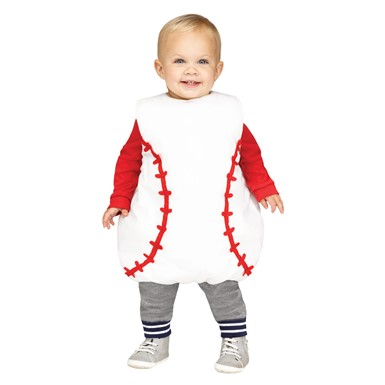 Toddler Baseball Tunic Costume Up to size 18 Months