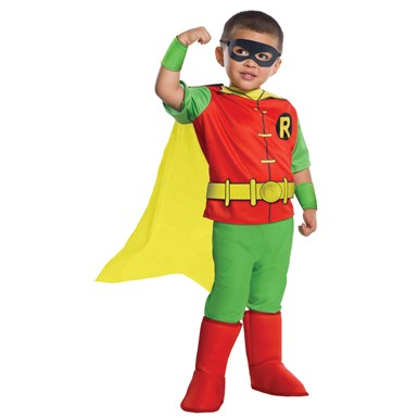 Toddler Deluxe Classic Robin Costume Size XS 2T-4T
