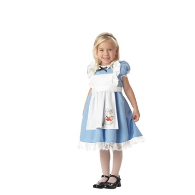 Toddler Girls Alice in Wonderland Costume - Lil Alice