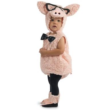 toddler hipster pig halloween costume