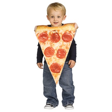 Toddler Lil Pizza Slice Halloween Costume size 3T-4T  sc 1 st  Costume Kingdom & Toddler Pizza Costume - Toddler Lil Pizza Slice Halloween Costume