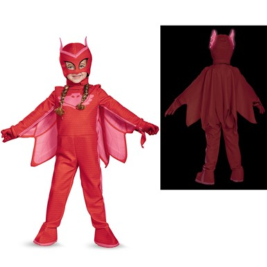 Toddler PJ Masks Deluxe Owlette Costume