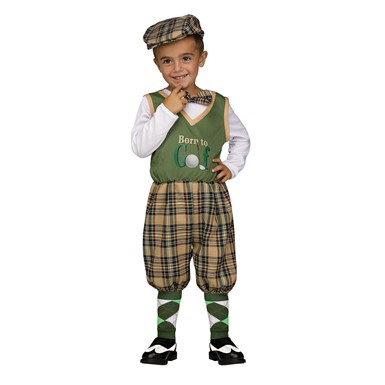 Toddler Retro Li'l Golfer Costume
