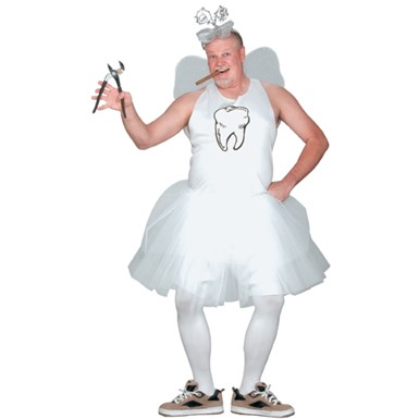 Tooth Fairy Men's Plus Size Adult Halloween Costume