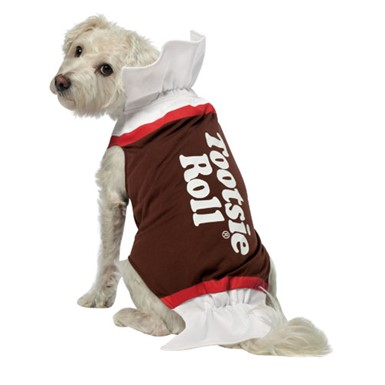 Tootsie Roll Dog Candy Pet Halloween Costume