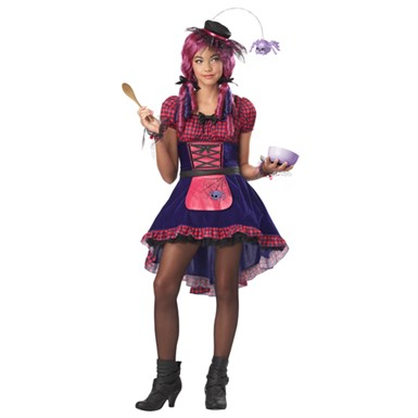 Tween Girls Along Came A Spider Costume