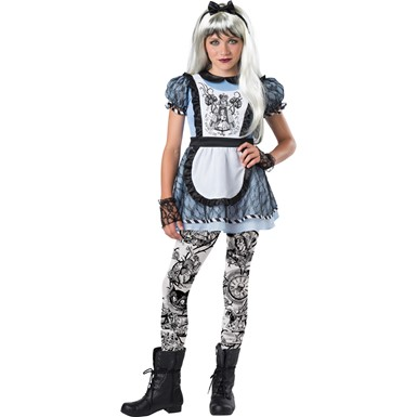 Tween Girls Malice in Wonderland Costume – Alice in ...