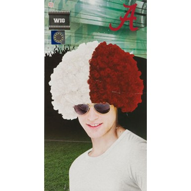 University of Alabama Wig Halloween Costume Accessory