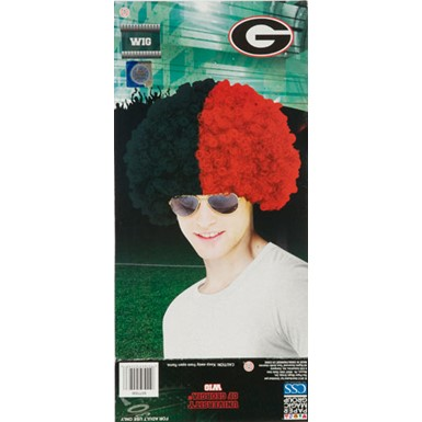 University of Georgia Wig Halloween Costume Accessory
