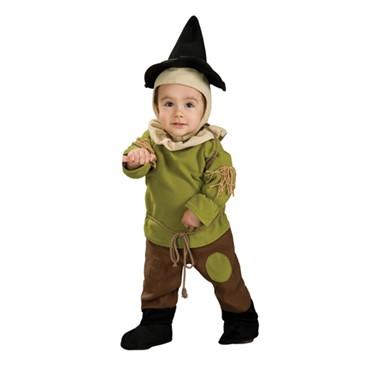 Wizard of Oz Scarecrow Infant Halloween Costume  sc 1 st  Costume Kingdom & Newborn Scarecrow Costume - Romper - Baby Wizard of Oz Costumes