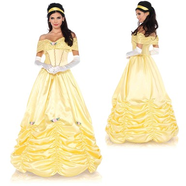 Womens Classic Beauty Ball Gown Disney Costume