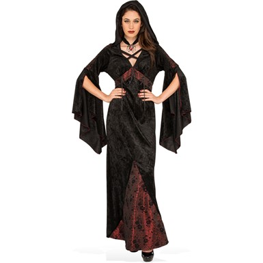 Womens Dark Damsel Vampire Halloween Costume