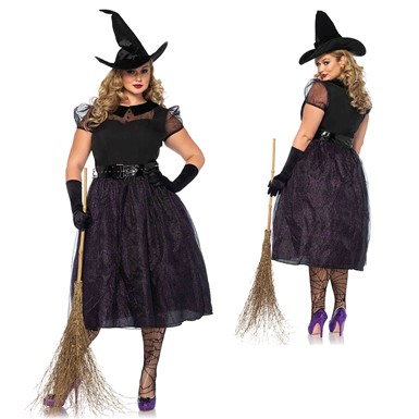 Womens Darling Spellcaster Costume – Plus Size