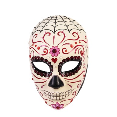 Womens Day of the Dead Sweetheart Halloween Mask