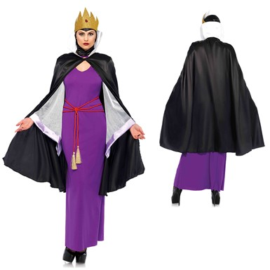 Womens Deadly Dark Queen Disney Costume