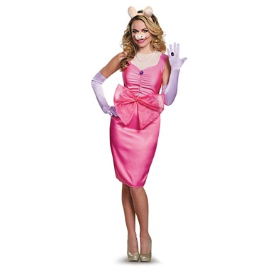 Womens Deluxe Miss Piggy The Muppets Costume