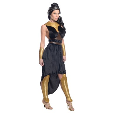 Womens Deluxe Queen Gorgo 300 Costume