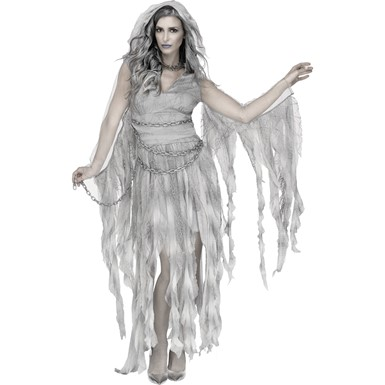 Womens Enchanted Ghost Halloween Costume