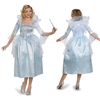 Womens Fairy Godmother Deluxe Costume