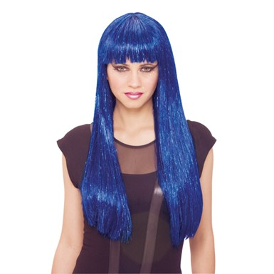 Womens Future Wig - Blue