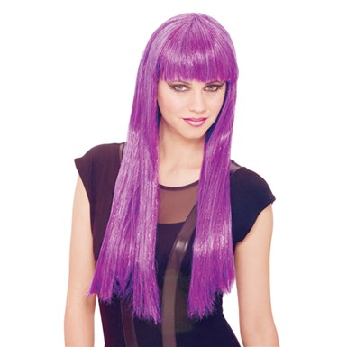Womens Future Wig - Purple