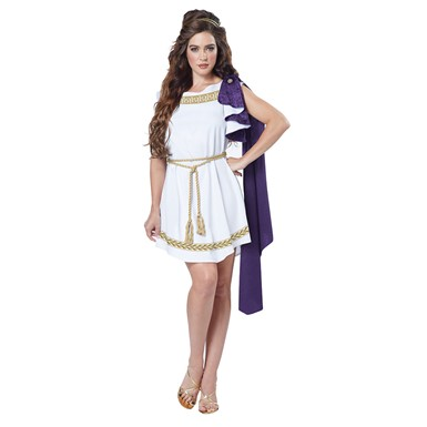 Womens Grecian Toga Halloween Costume