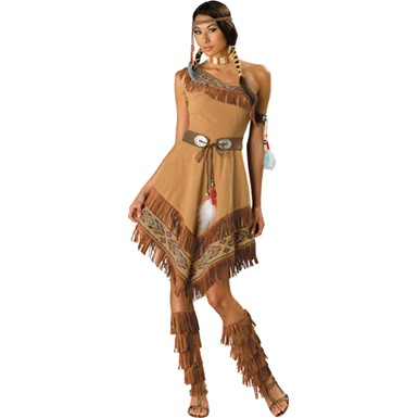 Womens Indian Costume - Indian Maiden