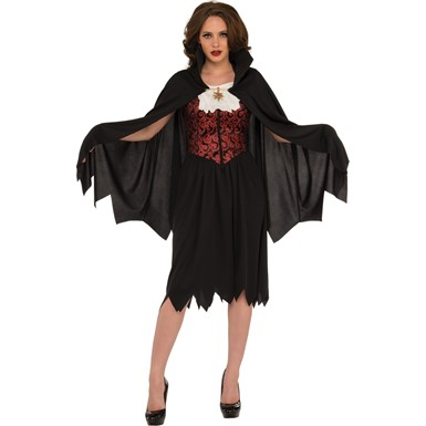 Womens Lady Vampire Halloween Costume