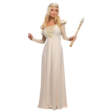 Womens Oz Deluxe Glinda Halloween Costume