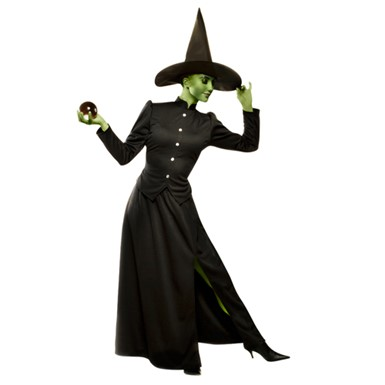 Womens Oz Wicked Witch Halloween Costume