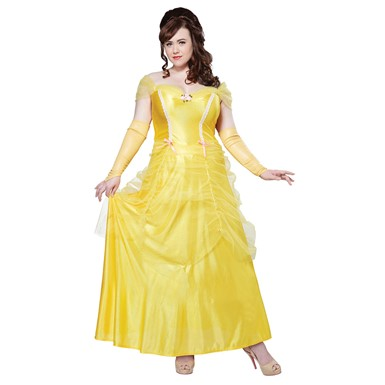 Womens Plus Size Beauty And The Beast Costume