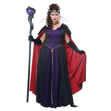 Womens Plus Size Evil Storybook Queen Costume – Womens Plus Size ... 87545b50ca01