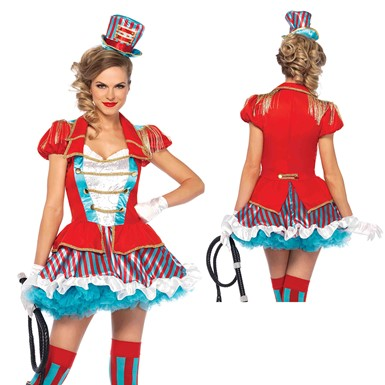 Womens Ravishing Ring Master Circus Costume