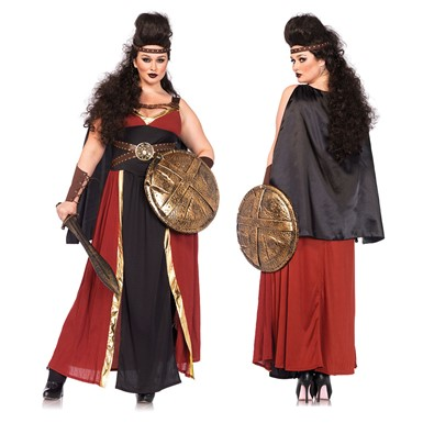Womens Regal Warrior Plus Size Halloween Costume