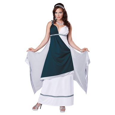 Womens Royal Roman Beauty Halloween Costume