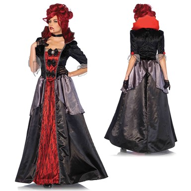 Womens Sexy Blood Countess Vampire Costume