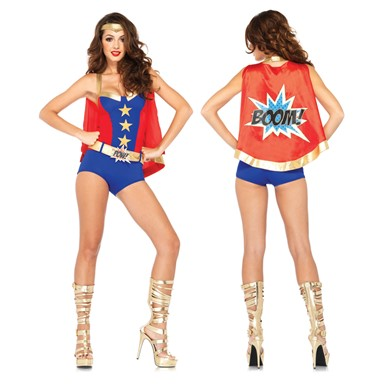 Womens Sexy Comic Book Hero Costume