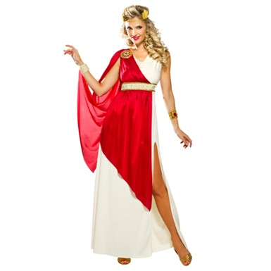 Womens Sexy Lady Caesar Halloween Costume