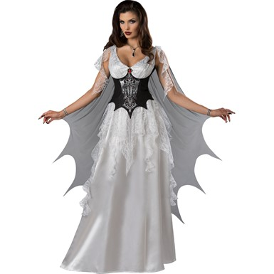 Womens Sexy Vampire Countess Halloween Costume