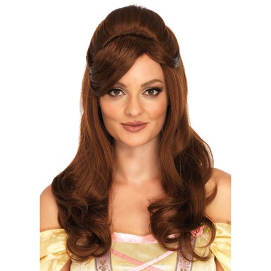 Womens Storybook Beauty Halloween Belle Wig