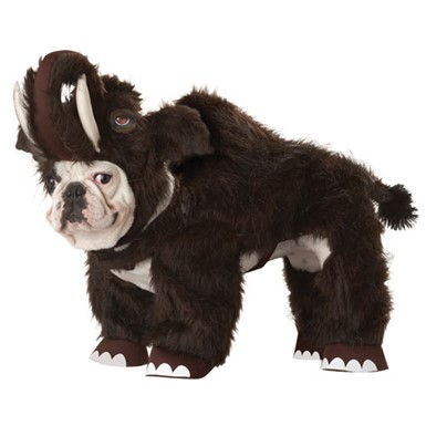 Woolly Mammoth Dog Animal Planet Pet Halloween Costume