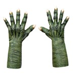 Adult Green Evil Witch Hands Costume Accessory