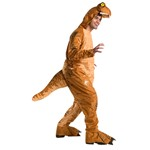 Adult Jurassic World T-Rex Oversized Jumpsuit Costume