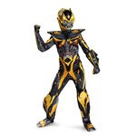 Boys Bumblebee Transformers Prestige Halloween Movie Costume