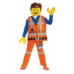 Boys Deluxe Emmet LEGO Movie Construction Worker Costume
