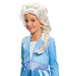 Child Frozen Elsa Costume Wig