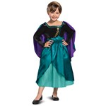 Deluxe Girls Frozen 2 Snow Queen Anna Costume