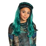 Girls Disney Descendants Uma Green Braids Wig
