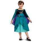 Girls Frozen 2 Queen Anna Classic Child Costume
