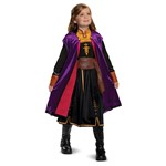 Girls Frozen Anna Deluxe Halloween Costume